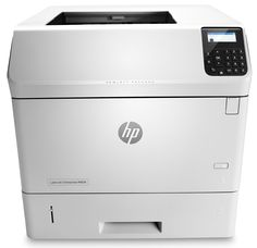 HP LaserJet Enterprise M604n Printer, (E6B67A). Take productivity to the next level. Monitor jobs and settings quickly with the 4-line display and use the 10-key pad for PIN printing. Meet high-volume demands with automatic two-sided printing and versatile paper trays-up to 3600 sheets. Improve efficiency. Add paper-handling accessories to presort jobs, print on different media, and more. Advanced capabilities, easy management. Easily expand this printer as solutions advance and workgroup...