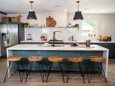 """5 Essential Elements in Every """"Fixer Upper"""" Kitchen — The Farmhouse Kitchen"""
