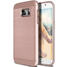 Galaxy S7 Edge Case, OBLIQ [Slim Meta][Rose Gold] Slim Fit Premium Dual Layer Protection Case with Metallic Brush Finish Back with Shock Absorbing TPU Inner Layer for Samsung Galaxy S7 Edge Obliq http://www.amazon.com/dp/B01BD02QD4/ref=cm_sw_r_pi_dp_eJjZwb1F2C2B3
