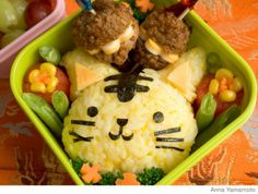 How to Make an Easy, Healthy Tiger Bento Lunch Box - Parenting.com