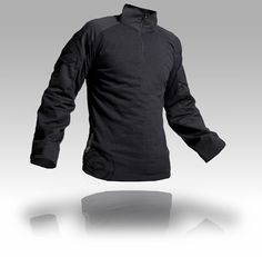 Crye Precision Combat Shirt AC: flame resistant torso, Mil-Spec NYCO ripstop sleeves, Crye combat elbow pad compatible, zip collar, lightweight, and simple.    [$145]