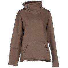 Blue Mont Sweatshirt ($49) ❤ liked on Polyvore featuring tops, hoodies, sweatshirts, khaki, blue sweatshirt, cotton sweatshirt, sweatshirts hoodies, cotton sweat shirts and cotton turtleneck