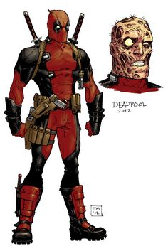 Deadpool by Tony Moore [ Marvel NOW! ] *Updated art via Tony Moore!!