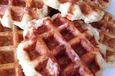 Skip the food truck and cafe, make super delicious Liege waffles at home