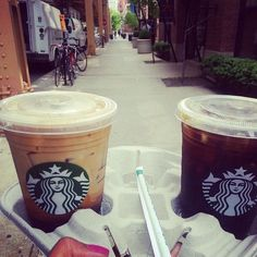 Starbucks run!