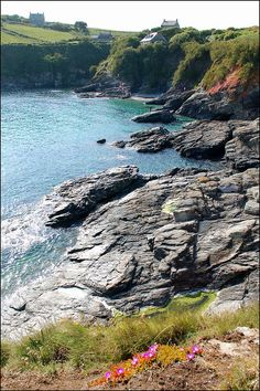 Prussia Cove by Baz Richardson, via Flickr