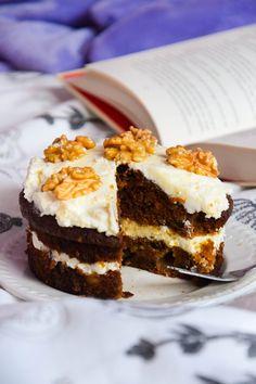 Ciasto marchewkowe - jedno lub dwu-porcjowe :)