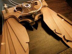 Steampunk Icarus Wings MK3 - Handmade wings [NEW PICS]