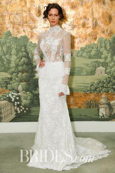 See the Spring 2018 wedding dresses from Idan Cohen bridal Most Beautiful Wedding Dresses, Elegant Wedding Gowns, Best Wedding Dresses, Bridal Dresses, Prom Dresses, 2018 Wedding Trends, Wedding Dress Trends, Trends 2018, Wedding Ideas