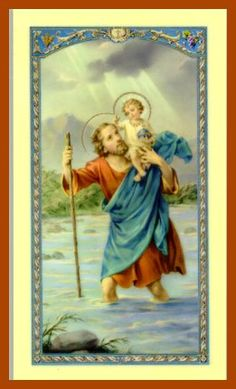 the life and christianity of st christopher St christopher is most commonly regarded as the patron saint of travelers his protection is sought for drivers, pilots, boaters, and transportation workers his protection is sought for drivers, pilots, boaters, and transportation workers.