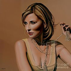 Painting - Cate Blanchett Painting  by Paul Meijering