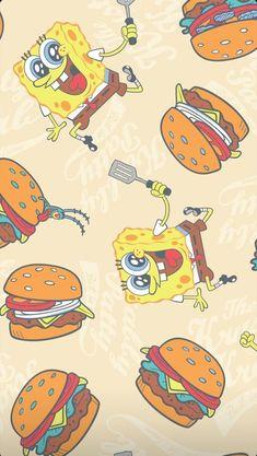 Spongebob Iphone Wallpaper, Iphone Wallpaper Quotes Love, Disney Phone Wallpaper, Cartoon Wallpaper Iphone, Iphone Wallpaper Tumblr Aesthetic, Iphone Background Wallpaper, Cute Cartoon Wallpapers, Spongebob Drawings, Cute Patterns Wallpaper