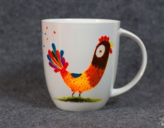 "Check out new work on my @Behance portfolio: ""!!!NEWS - Hand-painted mug"" http://be.net/gallery/63049363/NEWS-Hand-painted-mug"