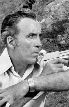 Christopher Lee in The Man with the Golden Gun