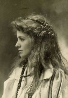 ↢ Bygone Beauties ↣ vintage photograph of Maude Adams, 1890