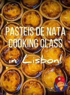 Learning how to make Custard Tarts in Lisbon... SO MUCH FUN! :D
