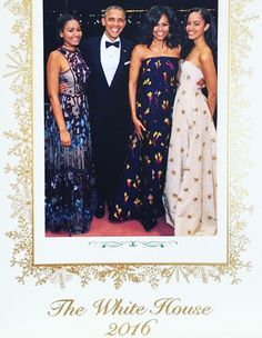 The Obamas Reveal Their 2016 Family Holiday Card