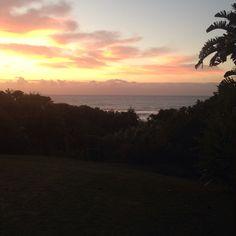 Sunset at Umzumbe Beach House Hibiscus, Beach House, Coast, Celestial, Sunset, Outdoor, Beach Homes, Sunsets, Outdoors