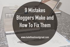 9 Blogging Problems And How To Fix Them