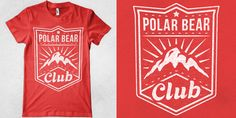 PBC - Mountains - T-shirt design by Marek Mundok - Mintees
