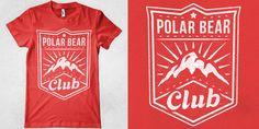 PBC - Mountains - T-shirt design by Marek Mundok - Mintees