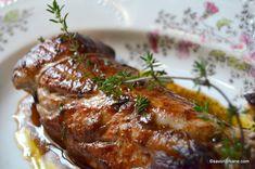 Muschiulet de porc simplu la cuptor | Savori Urbane Tasty, Yummy Food, Steak, Goodies, Food And Drink, Cooking, Recipes, Pork, Sweet Like Candy