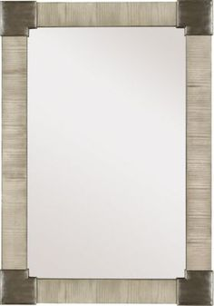 Fennell Mirror with Clear Mirror - Ash from the 1911 Collection collection by Hickory Chair Furniture Co.