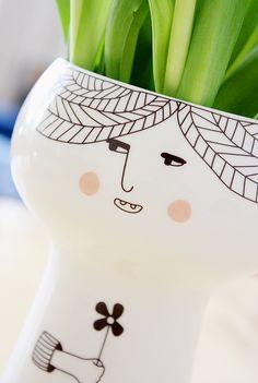 Vase FLOWERMEHAPPY Lotta  (photo philuko)