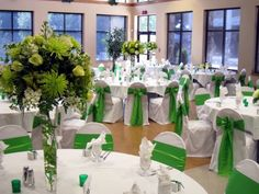 green theme wedding ideas