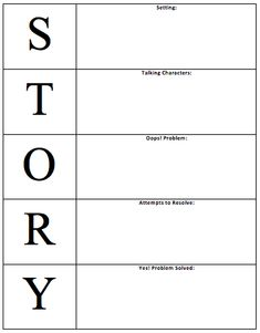 Creative writing structure narrative
