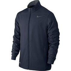Nike Mens Dri-Fit Signature Athletic Jacket Navy S