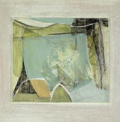 Wilhelmina Barns-Graham (1912-2004), Winter Landscape 1952 (1952), oil and pencil on board, 27.5 x 29.2 cm.