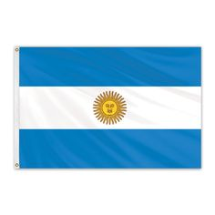 Argentina Outdoor Nylon Flag with Seal #FlagCo #OutdoorFlag #Argentina