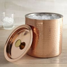 A hammered ice bucket that your guests will adore. | 31 Products That Prove Copper Is The Definitive Kitchen Color