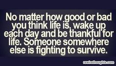 Be Thankful For Liferewirethoughts