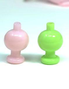 Carb Cap Outer Diameter: OD Cap: Fit OD Quartz Banger Glass Bubble Ball Carb Cap for Quartz Bangers Mix colors, Carb Cap, Color Mixing, Bubbles, Quartz, Glass, Dabbing, Rigs, Accessories, Drinkware