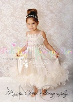 A Day to Dance Flower Girl Dress