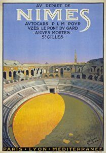 French Vintage Travel Poster of Nimes £2.99