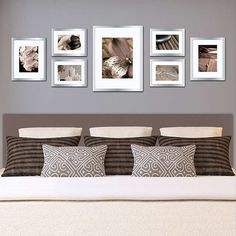 BuyGallery Perfect Frame Set, Silver Online at johnlewis.com