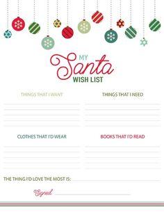 78 Best Santa Wish List Images Santa Wish List Santa