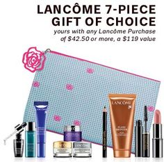 New GWP from Lord & Taylor. A 7-piece gift.