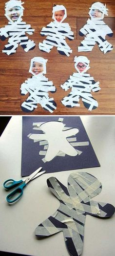 Best Ideas Halloween Crafts For Kids Crafts Best Ideas Halloween Crafts For Kids – Vanchitecture Kids Crafts, Halloween Crafts For Toddlers, Halloween Arts And Crafts, Halloween Class Party, Halloween Designs, Halloween Tags, Daycare Crafts, Fall Crafts For Kids, Classroom Crafts
