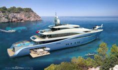 Tony Castro 65m design