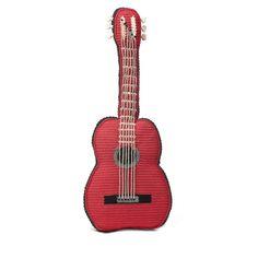 crochet guitar by Anne Claire Petit