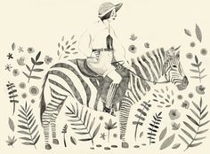 Love this drawing...by Clare Owen