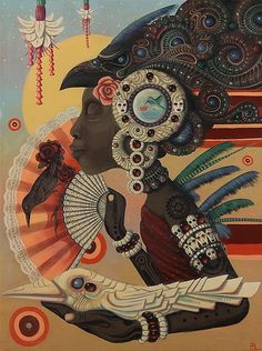 """Emergence"" ~  Paul Lewin  (San Francisco based artist)"