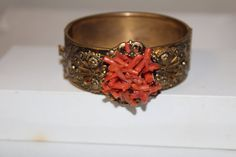 Coral & Amber Vintage Vexplosion #Vexplosion by Mary Jane on Etsy