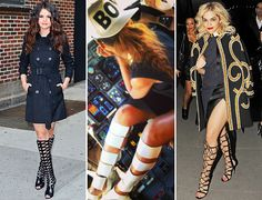 2013 boot trends for women | ... , Rihanna, And Rita Ora Prove The Gladiator Boot Is Back! | MTV Style