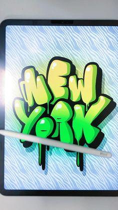 Graffiti Art Drawings, Graffiti Alphabet Styles, Graffiti Lettering Alphabet, New York Graffiti, Graffiti Doodles, Graffiti Cartoons, Graffiti Wall Art, Cool Art Drawings, Street Art Graffiti