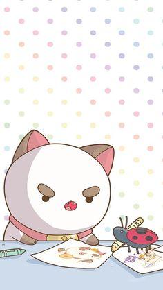 "telgip: ""Bee and Puppycat Comic Phone Wallpapers "" Bravest Warriors, Otaku, Cartoon Shows, Cultura Pop, Tumblr, Cute Wallpapers, Cute Art, Art Reference, Chibi"